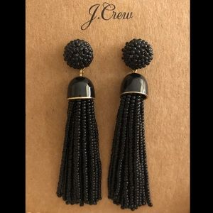 J. Crew tassel earrings